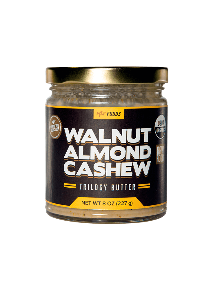Walnut Almond Cashew Butter
