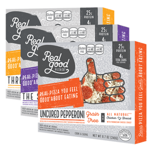Low-carb pizzas and enchiladas by Real Good Food