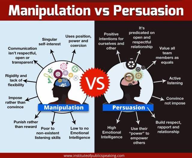 Manipulation vs Persuasion