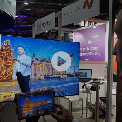 Novum Interactive Christmas Experience at DMEXCO 2018 - DMEXCO is the biggest digital marketing conference in Germany. It attracts more brands, agencies, media and tech players from the industry than any other trade show – in 2018 there were 41,000 visitors from 95 countries. The DMEXCO Conference brings together all the major theme worlds and disruptive trends of the digital economy and presents them on a total of 18 stages.