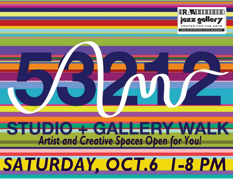 53212 Studio and Gallery Walk, October 6th, 2018
