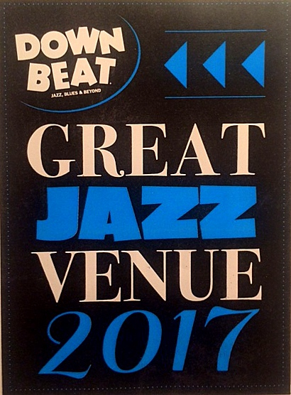 downbeat best jazz venue award.JPG