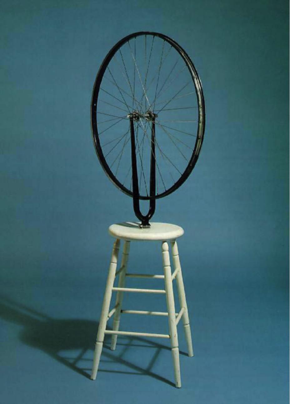 'Bicyclewheel' - Marcel Duchamp 1913