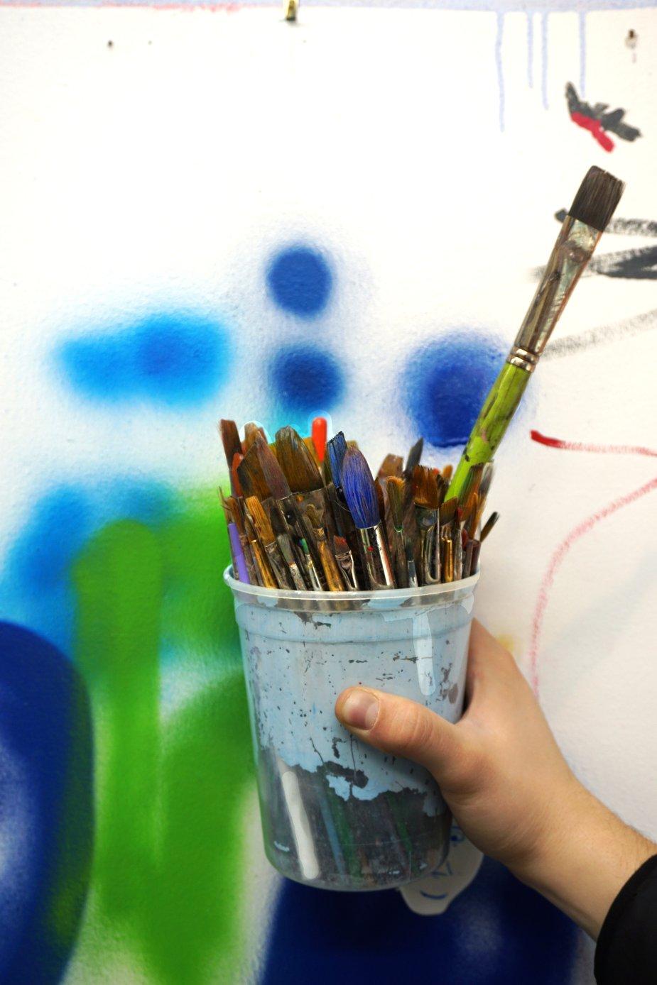 CHILDREN ARE THE FUTURE OF ART -