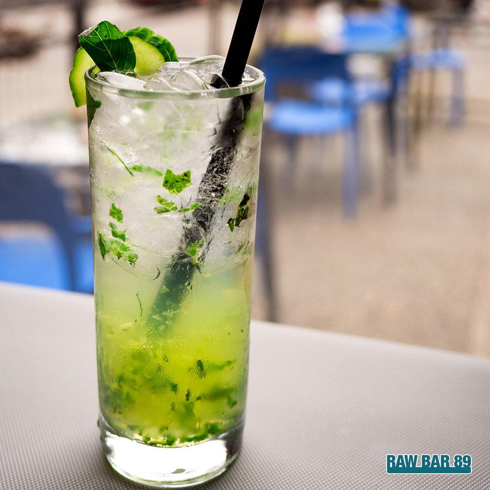 Cucumber Basil Sour