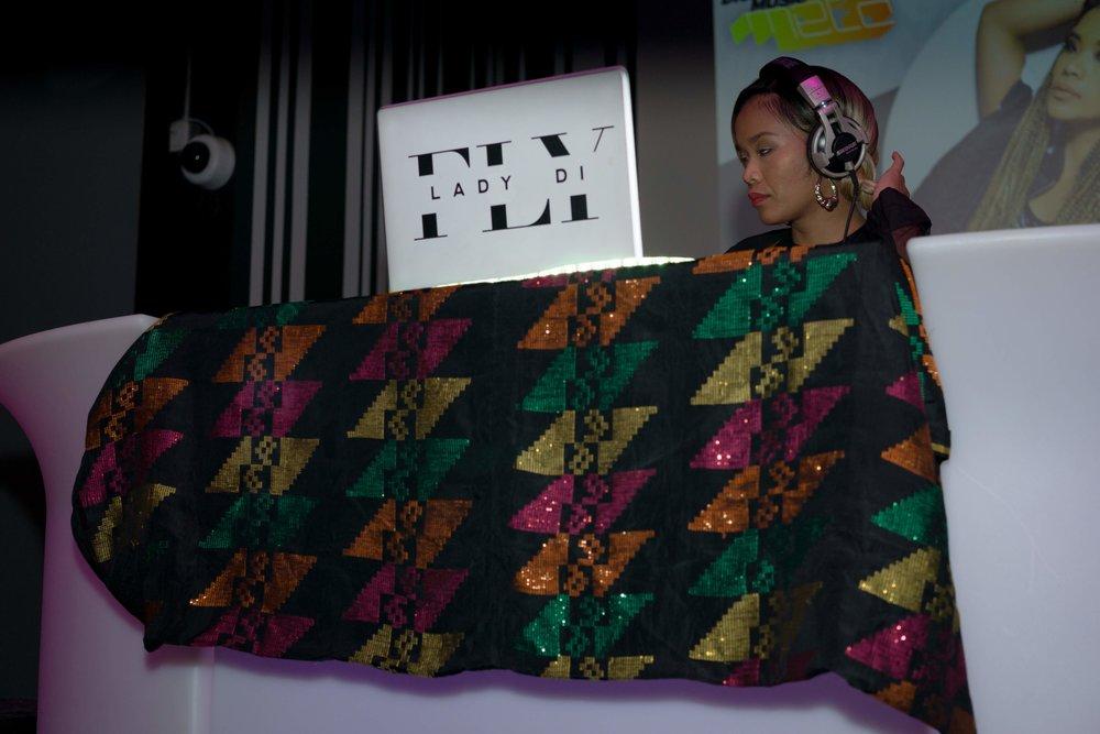 DJ FlyLadyDi performing at META Brampton (September 2018)