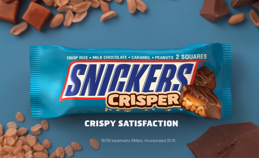Snickers Canada new Innovation launch - Snickers Crisper