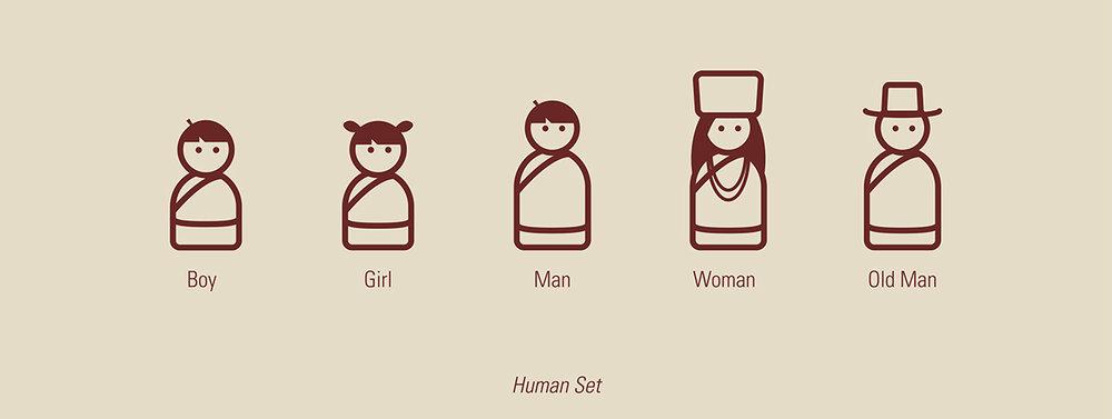 """""""Human Set"""""""