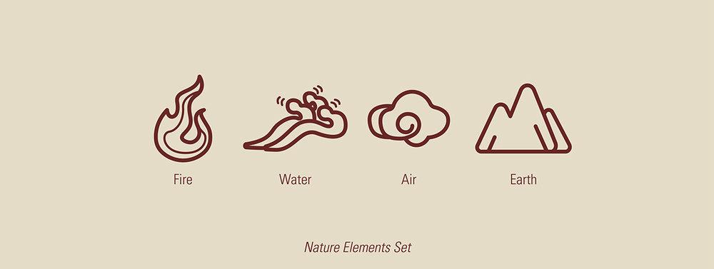"""Nature Elements Set"""