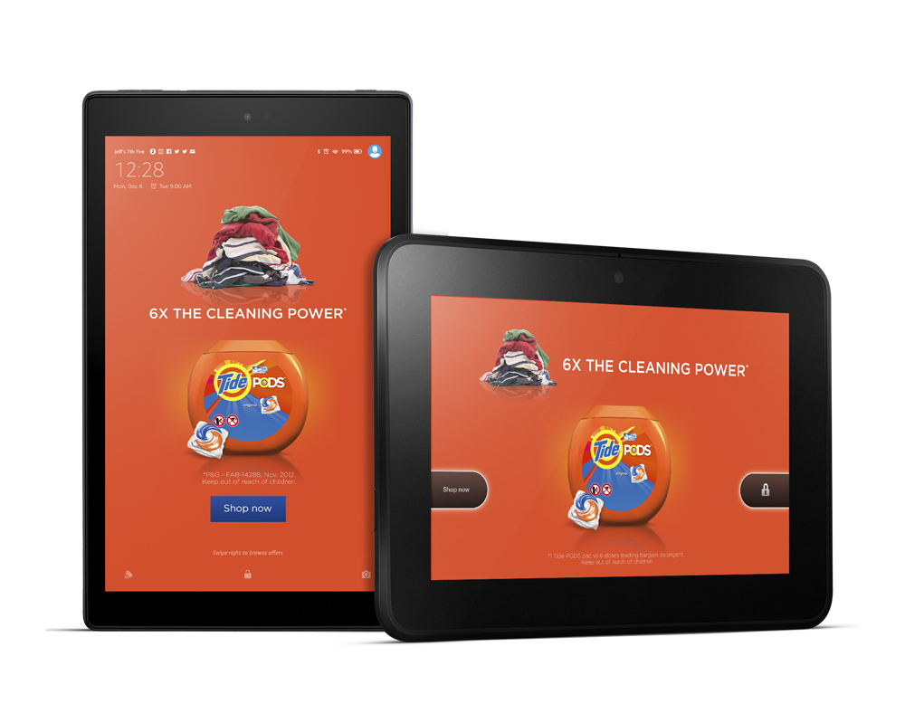 Fire Tablet Display Ad -