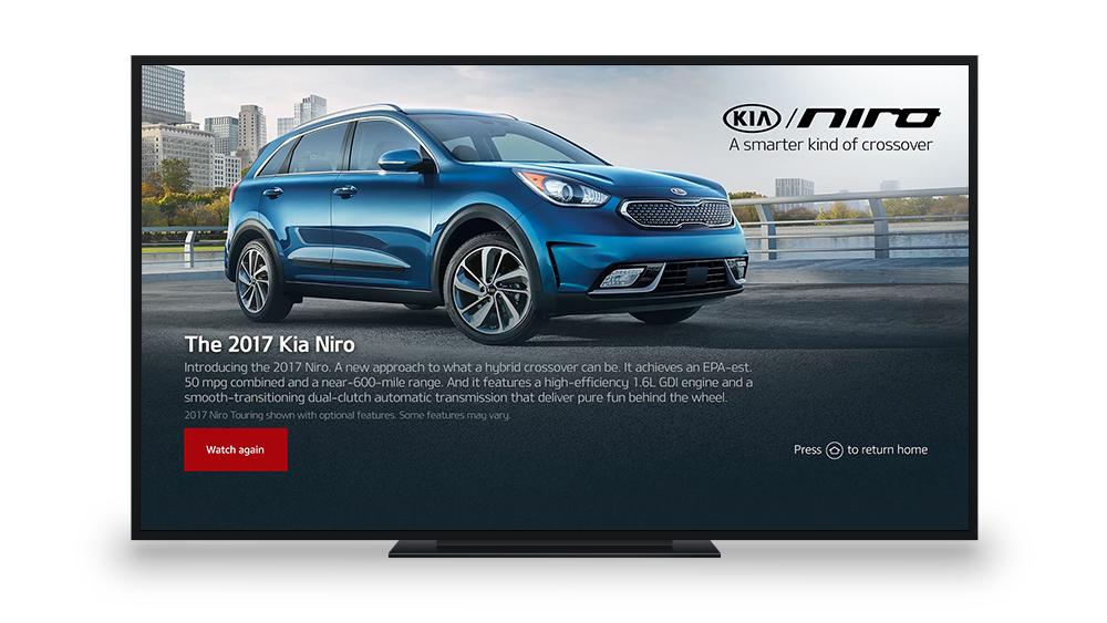 2017 Kia Niro Fire TV Video Landing Page