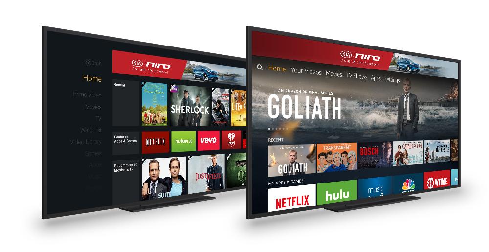 2017 Kia Niro Fire TV Home screen Banner (2015 UI/2016 UI)