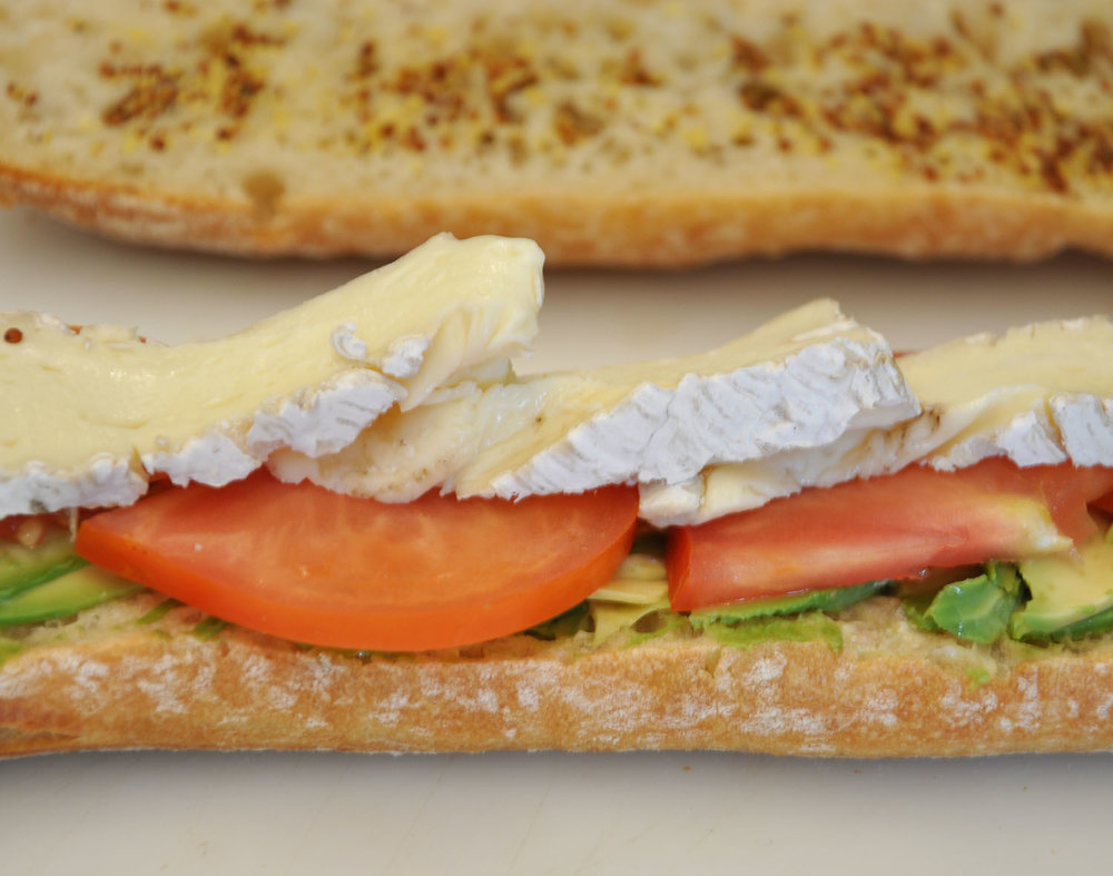 Brie de Meaux Sandwich