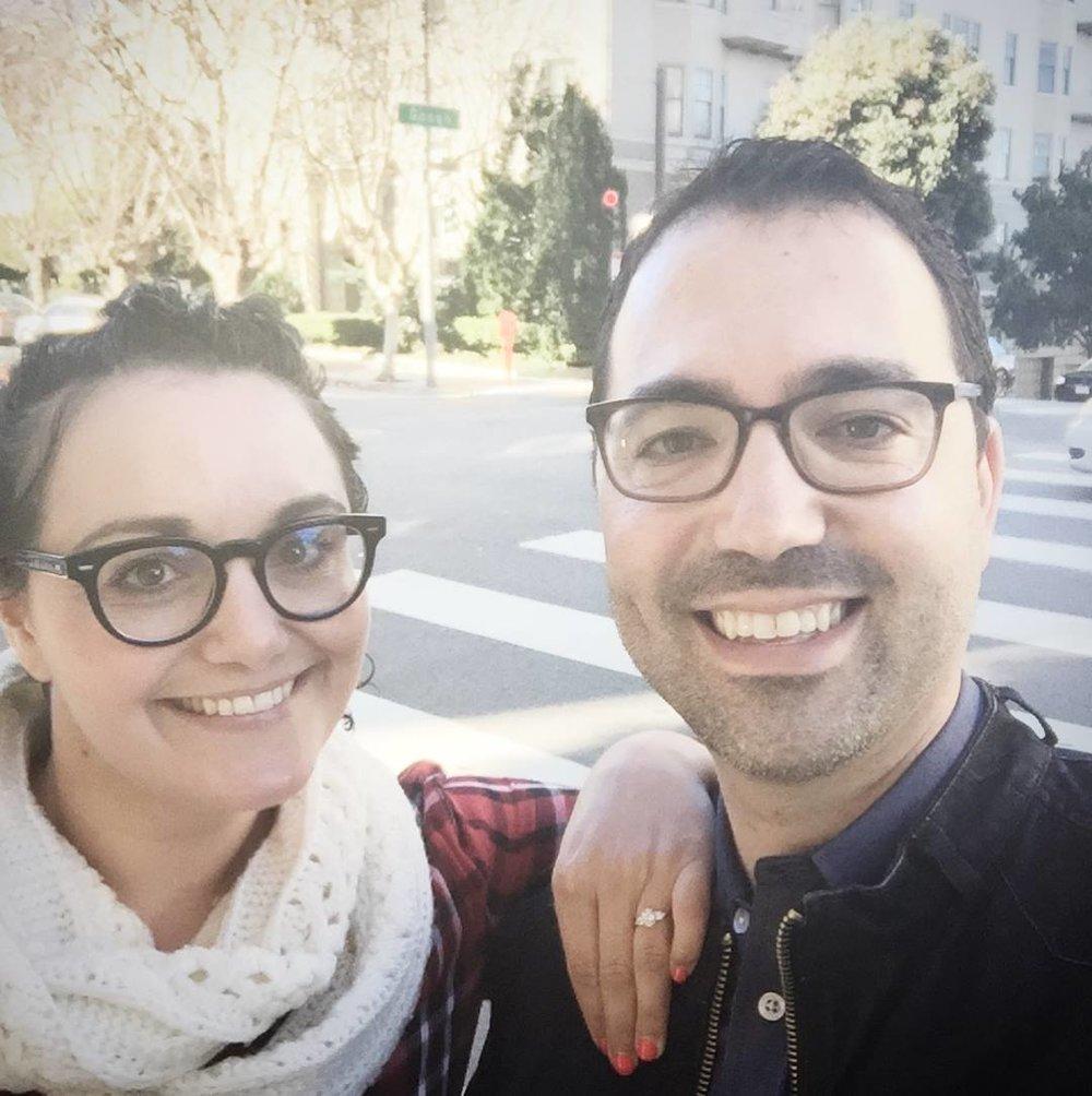 Engaged!  San Francisco, 12.20.17