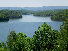 Philpott Lake  - Offers 100 miles of shoreline, no development on the waterline, and Fairy Stone State Park.   www.visitfranklincountyva.org