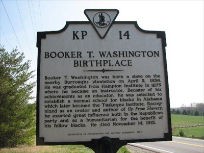 Booker T. WashingtonNational Park  - www.virginia.org/bookertwashington