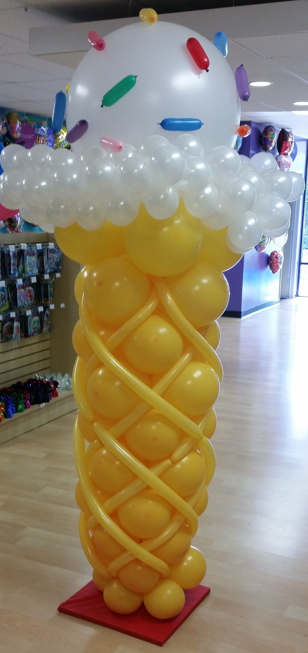 ice cream cone balloon column.jpg