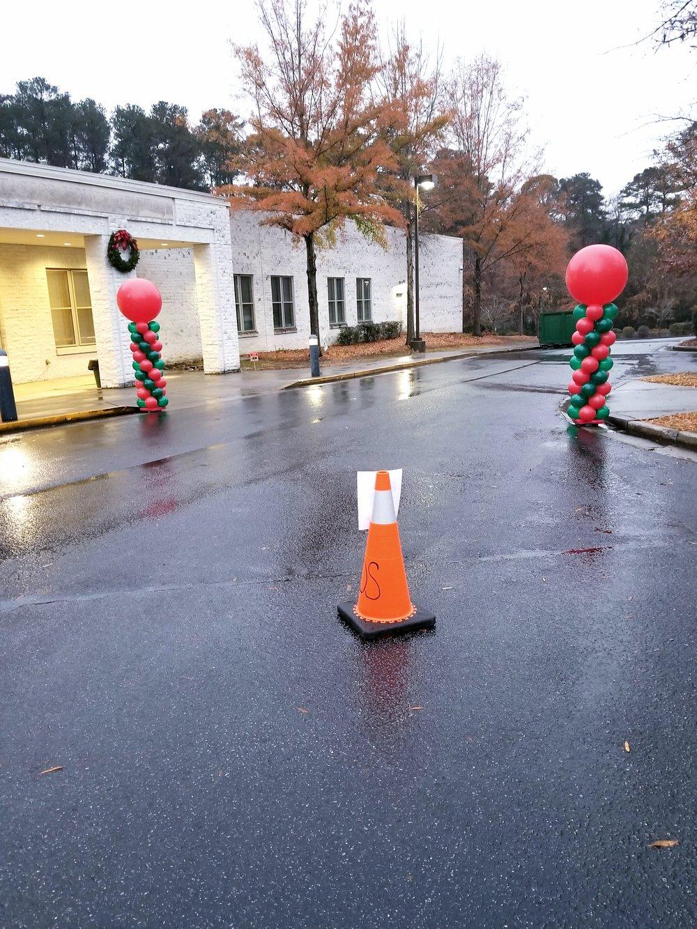 Christmas balloon columns .jpg