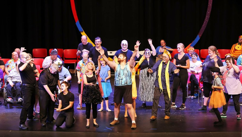 "Aktion Club Theatre of Mankato in ""Circus Metamorphosis"" 2018"