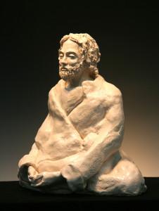 Jesus_Meditating_-34R-L-Bob_Clyatt_Sculpture