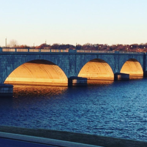 The Memorial Bridge on a recent sunrise run. Posted on Instagram.
