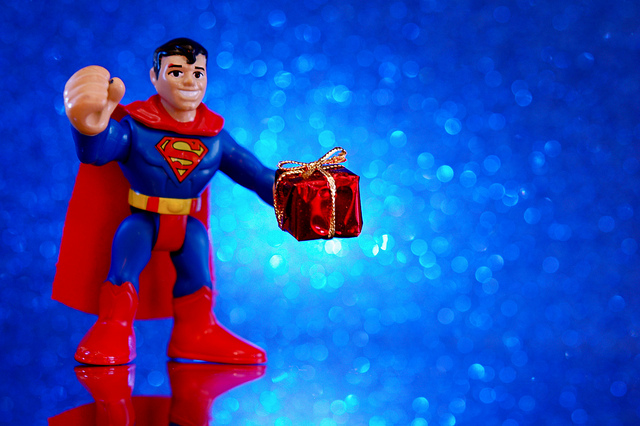For me? Why thank you Superman!