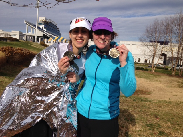 Annapolis Half with Linda!