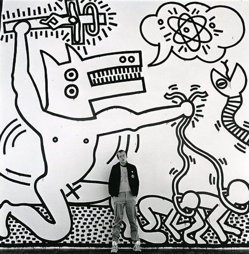 """I am a necessary part of an important search to which there is no end."" Keith Haring."