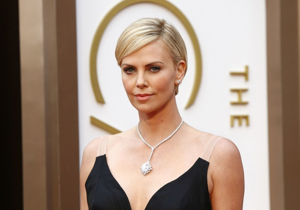 charlize theron oscars reuters