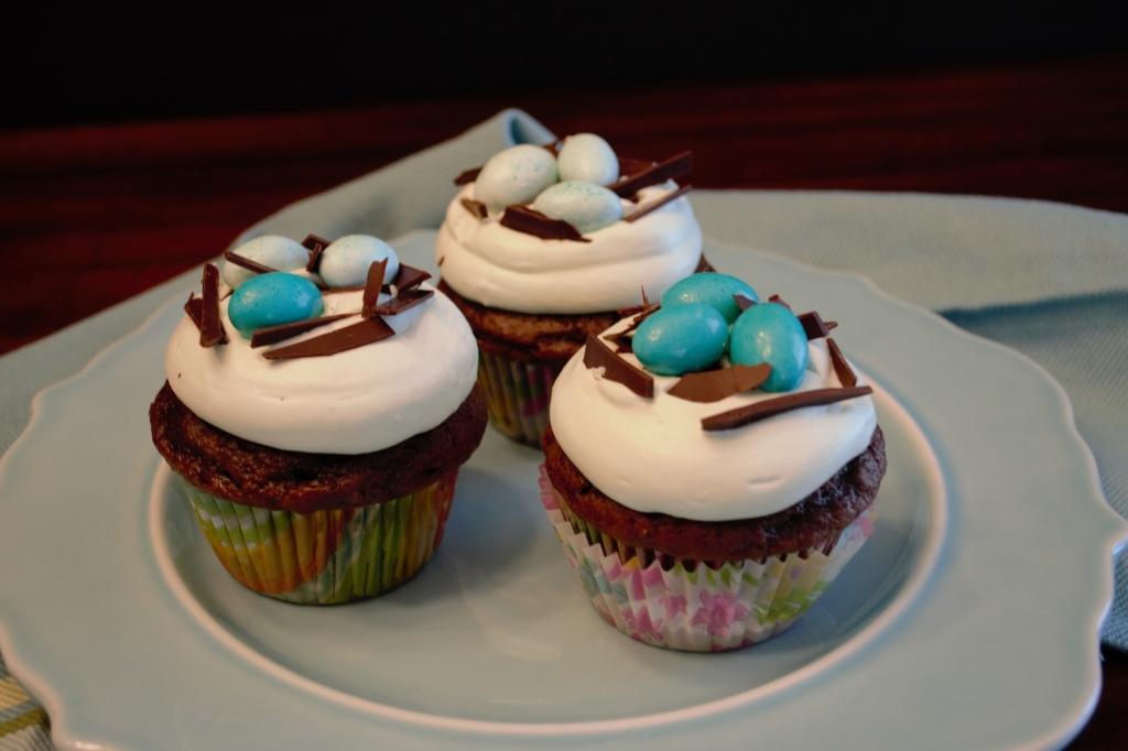 Birds Nest Cupcakes 1