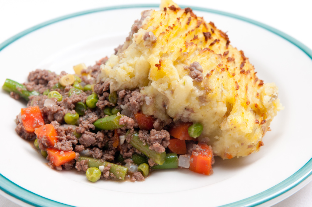"Shepherd's pie is a delicious one-dish meal that screams ""comfort"" on cooler fall evenings."