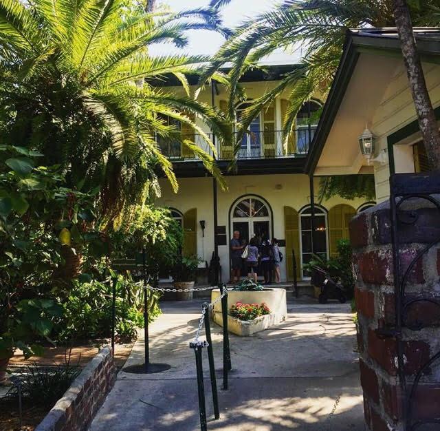 Hemingway house, Key West, 2017