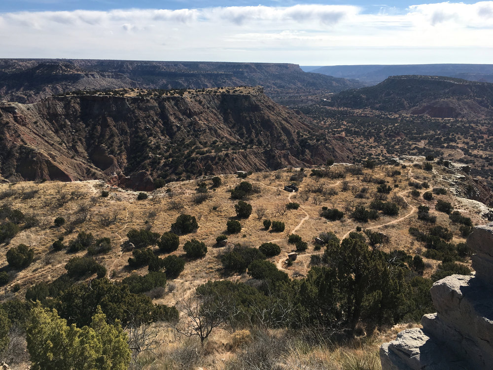 Palo Duro Canyon ~ a reflective place between where I'm from and where I am now