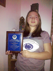 MORGAN KERSTETTER & HER YOUTH RECOGNITION AWARD 2012