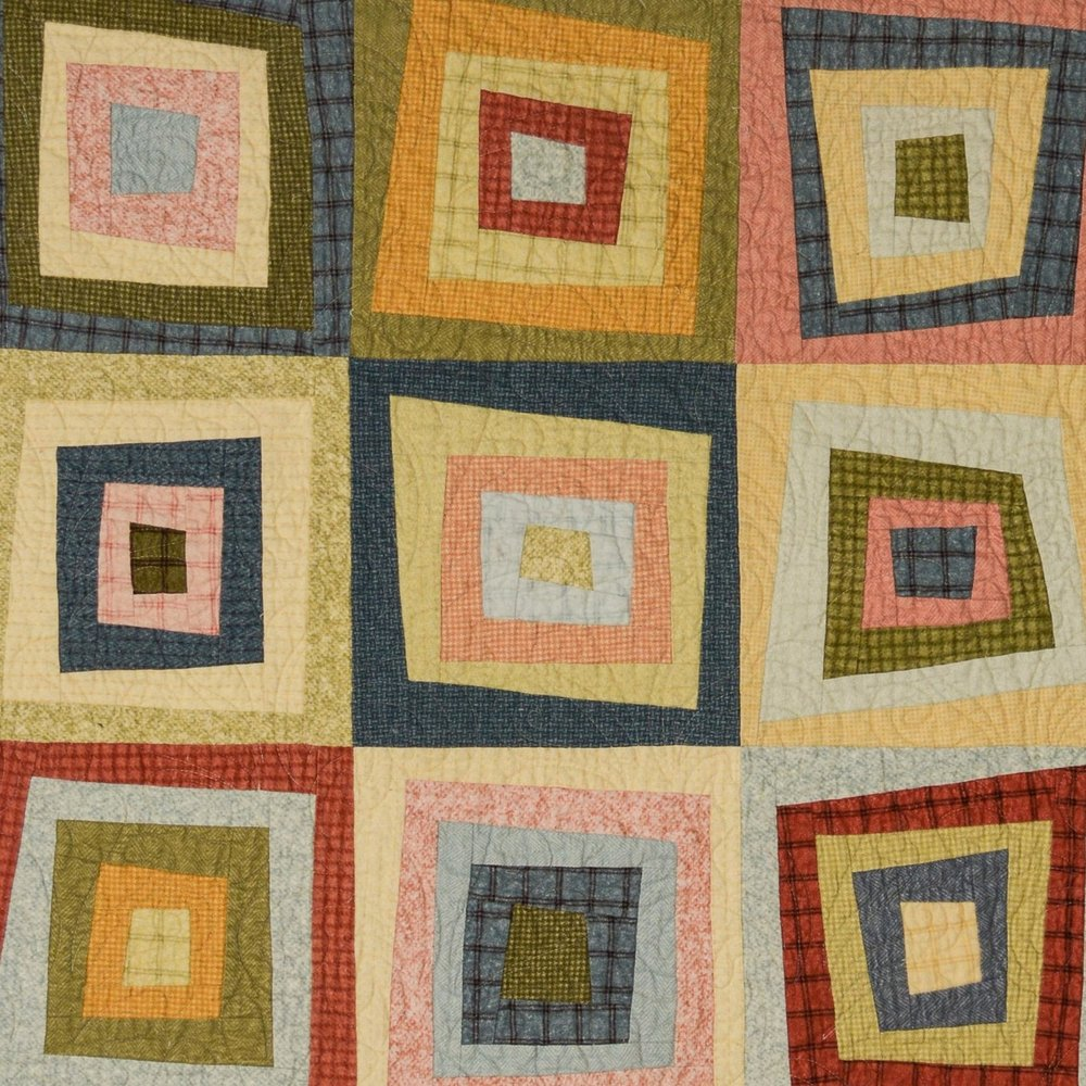 "Patterns - I've always loved scrap quilts. My approach to designing reflects ""the more scraps, the merrier"" attitude. By incorporating scraps from prints to plaids, traditional blocks are transformed into stunning simple patterns with a touch of whimsy. Enjoy!"