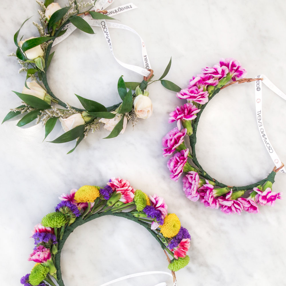Flower Crown Workshop With Crowning Event Bow Arrow Collection