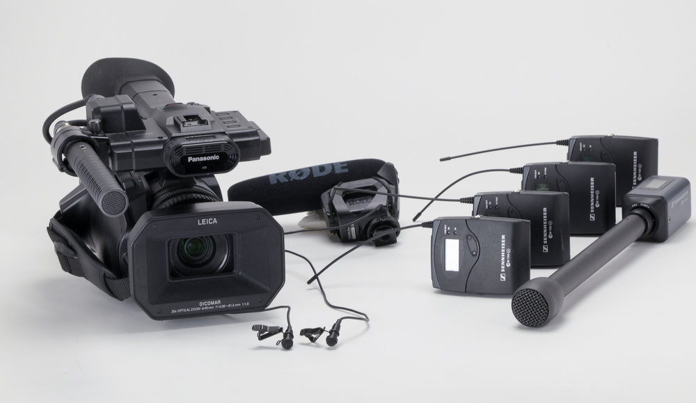 High quality equipment generates high quality videos and adds to your brand