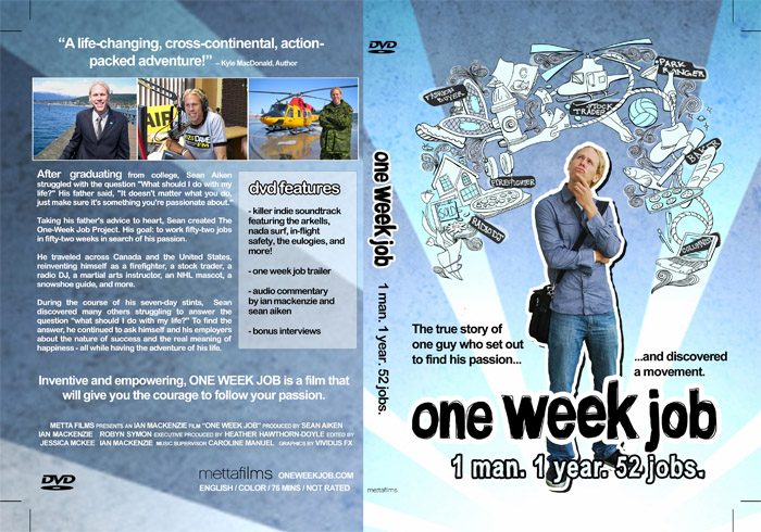 Documentary film - Award-winning feature length documentary film directed by Ian MacKenzie. Educational version and license also available.