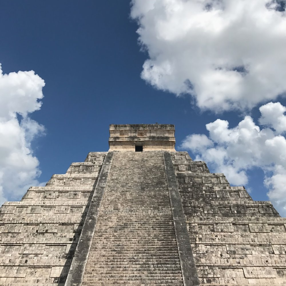 -  Chichén Itzá was one of the largest cities in the Mayan civilization. Its central structure, El Castillo, is a commanding pyramid thousands of years old.(This was also where they filmed Apocalypto.)