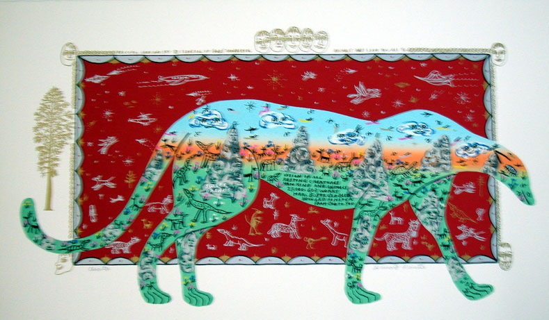 Cheetah, 1992, serigraph, 24 x 40 in. (60.96 x 101.6 cm), edition 90, 10 artist's proofs.jpg