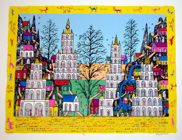 City of Mytrant, 1991, serigraph, 30 x 38 in. (76.2 x 96.52 cm), edition 90, 10 artist's proofs.jpg
