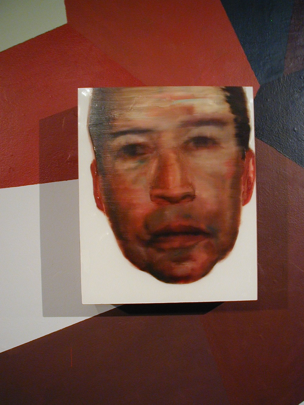 Dr. Wallace Huff, 2003, 16 x 12 x 4 in. (40.64 x 30.48 x 10.16 cm), oil on plastic