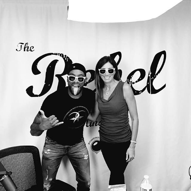 Dr. Dana Russo and I talk testosterone, and the chemistry behind being you!  #ChrisFalcon #DanaRusso #testosterone #theRebelMindset #podcasting #podcast #podcasts #behindthescenes #shaka #MediaPodz #mediamadesimple #blackandwhite #photography