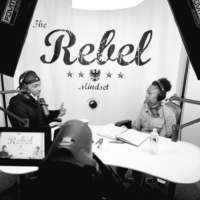 The inspiration is real, and she's not afraid to smile! Hers is a story of faith and strength. @christinejonel_  you are special!  #theRebelMindset  #officialchrisfalcon #MediaPodz #mediamadesimple #behindthescenes #blackandwhite #photography #strength #faith #inspiration