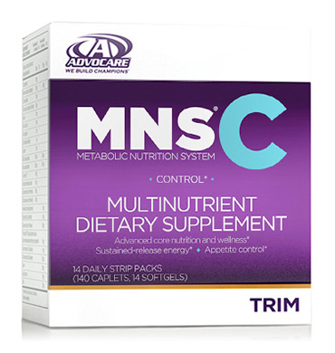 MNS C   Multinutrient Dietary Supplement   (aka willpower in a box)    Our most comprehensive multinutrient dietary supplement system that focuses on energy, wellness and appetite control