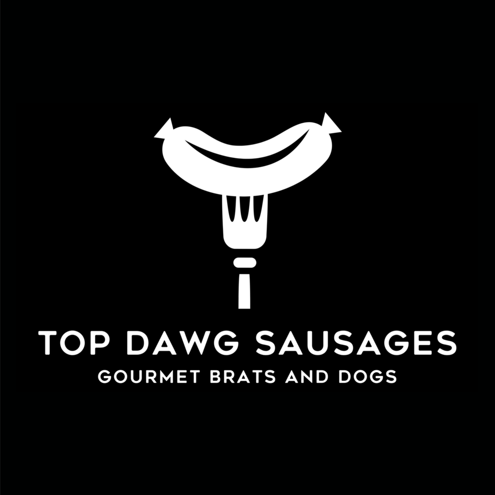 Top Dawg Sausages   We are very excited to  launch our brand new food truck, Top Dawg Sausages, selling gourmet sausages and brats! We are the Premier, Sausage and Brat truck in Denver.mWe char-grill our great tasting sausages and brats, warm our brioche buns on the grill, and top off our Dogs with outstanding, flavorful, intriguing toppings. Importantly, our Sausages and Brats, are FREE of nitrates, msg, hormones, steroids and antibiotics.