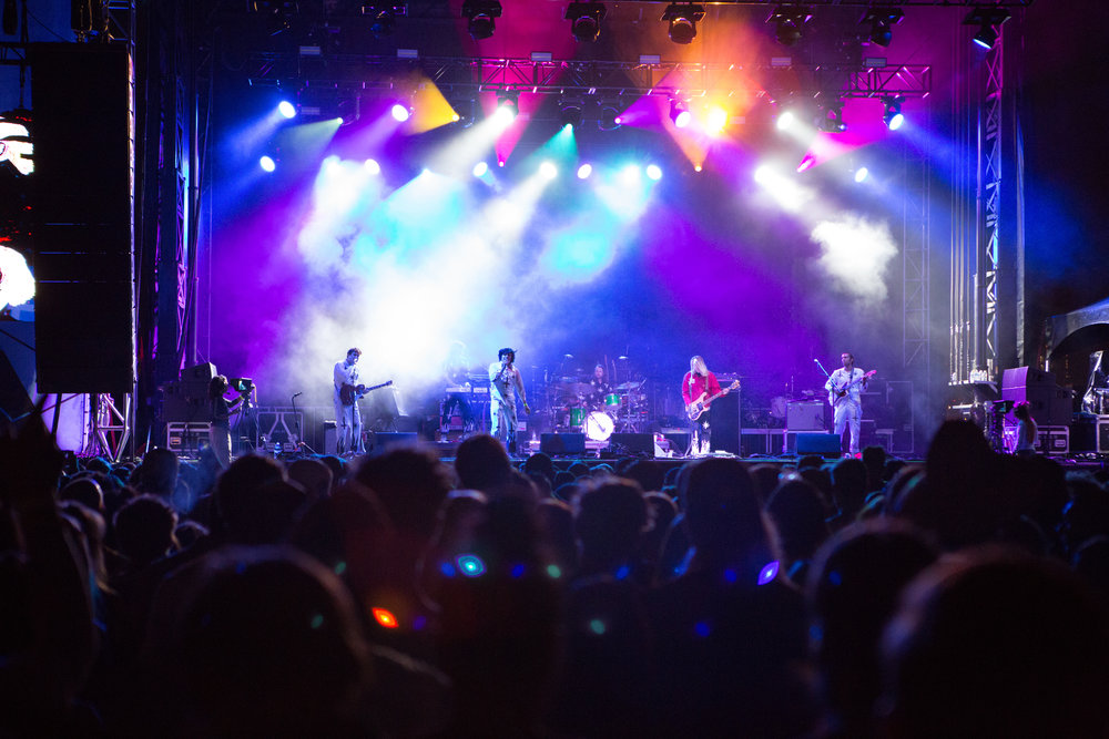Velorama Festival, Saturday Night - The Growlers. Photo: Corey Mercer