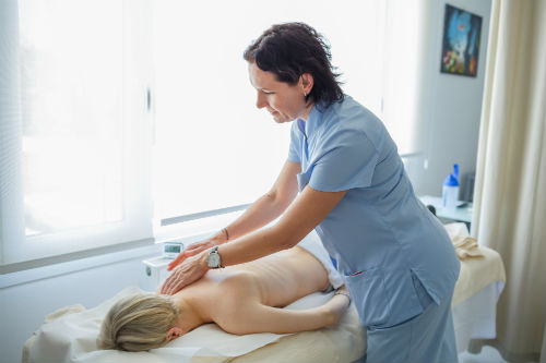 Lymphatic Drainage Massage -