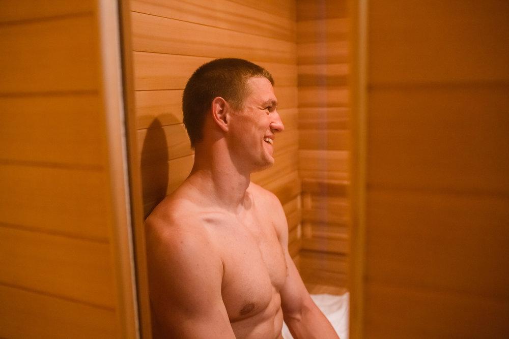 Far Infrared Sauna -