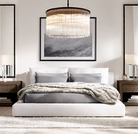 Bold & Glam - Rich, lush textures mixed with moody palettes.Do you love a more pared down aesthetic? Something a little dramatic, edgy, and reminiscent of a masculine sensibility? If so, then this is the room for you!